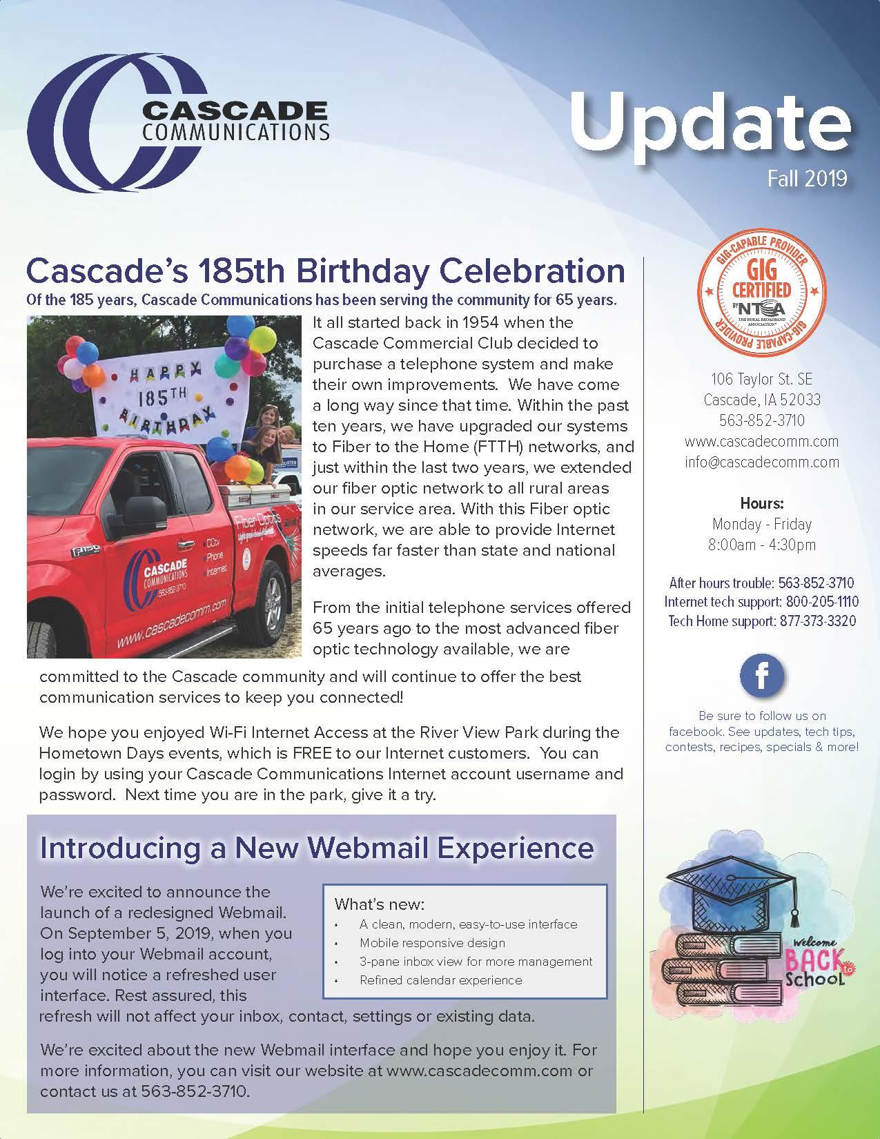 Cascade Update Front